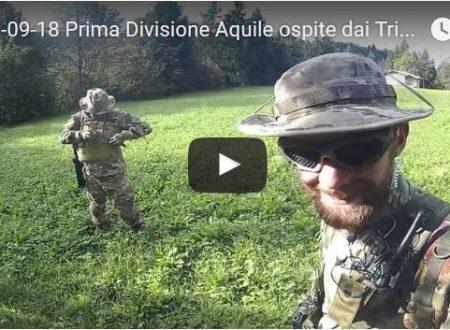 2016-09-18 Prima Divisione Aquile ospite dai Triarii presso Onore (BG)